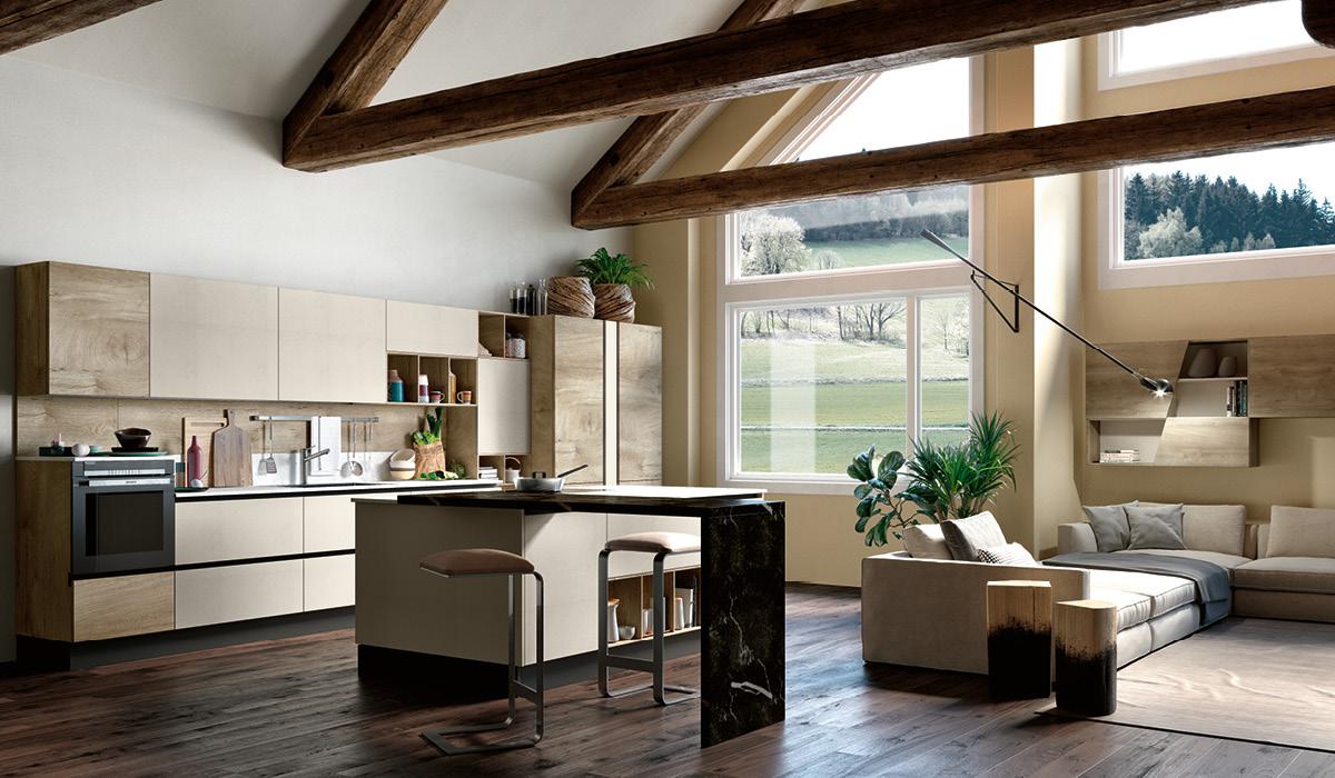 Produzione cucine componibili moderne imab group - Immagini cucine moderne ...