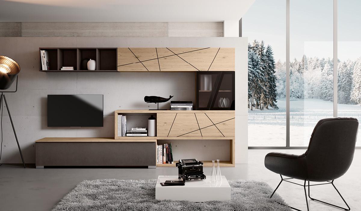 Produzione mobili living componibili imab group for Mobili di design in offerta